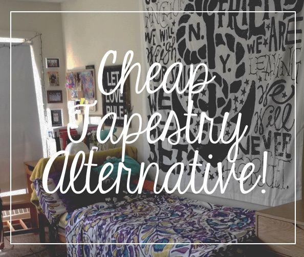 Cheap Tapestry Alternative For Dorms