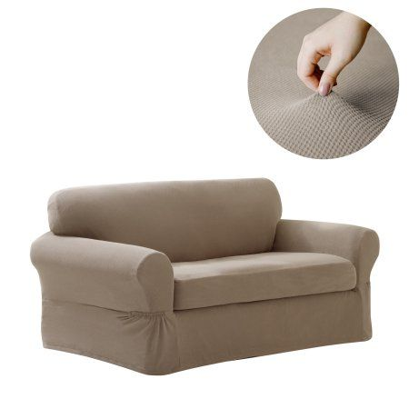 Pleasing Maytex Pixel Stretch Furniture Cover Slipcover Loveseat 2 Ncnpc Chair Design For Home Ncnpcorg