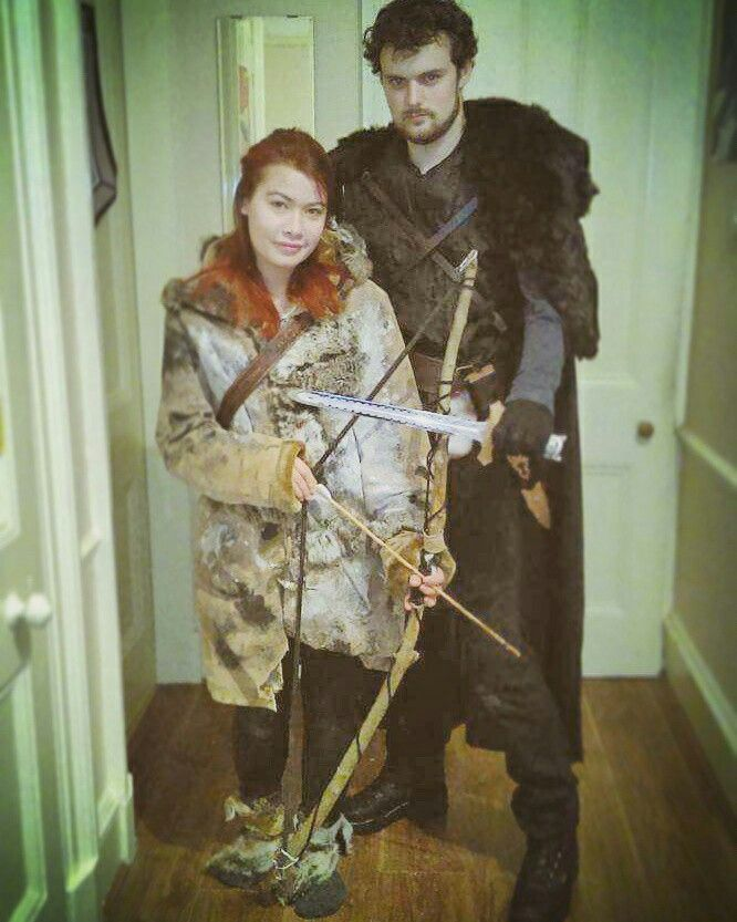 Jon Snow And Ygritte Costume Of Thrones Cosplay