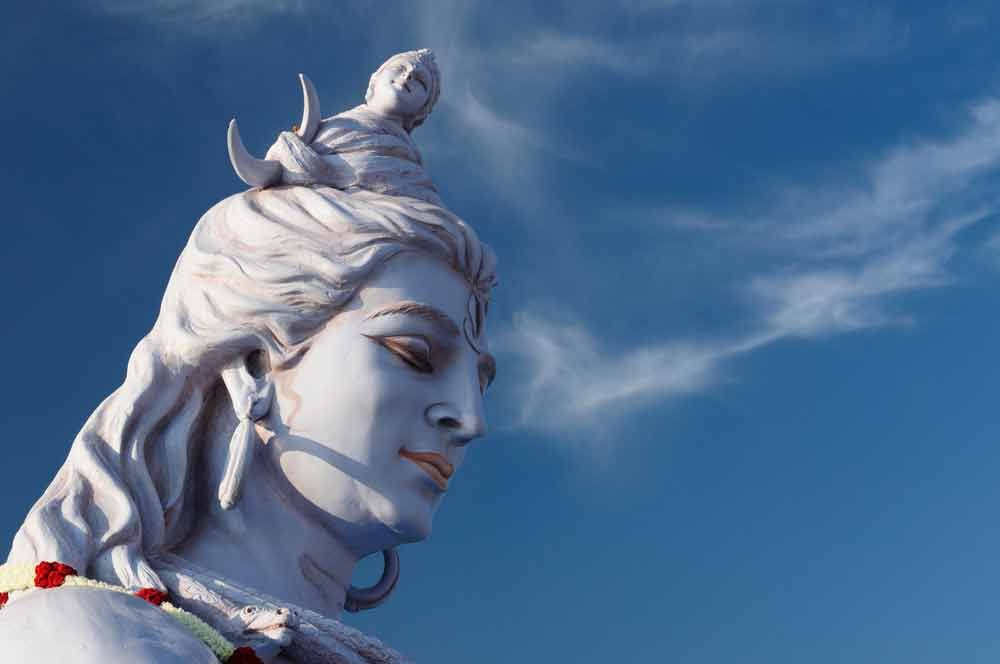 Lord Shiva Animated Wallpapers For Mobile A Statue Of Lord Shiva Rishikesh India Shiva Wallpaper