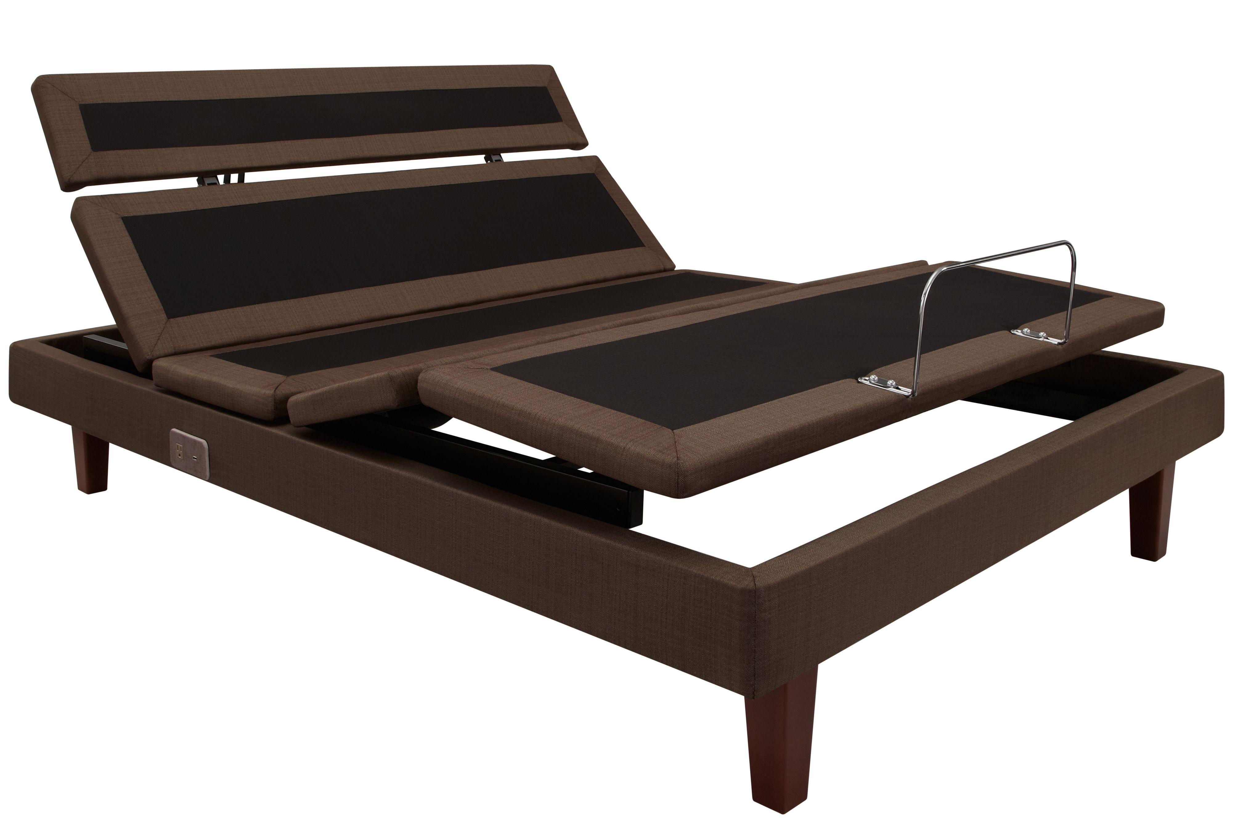 S F California King Reflexion Adjustable Base Set Beds Bed