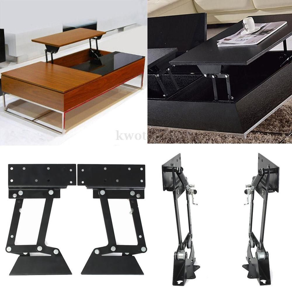 Black Metal Folding Lift Up Coffee Table Mechanism Furniture Hinge Spring New Coffee Table Hinges Coffee Table Hardware Coffee Table Furniture [ 1000 x 1000 Pixel ]