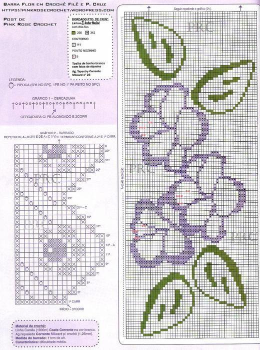 Gallery.ru / Фото #1 - кайма 4 - natalya111 | Puntillas crochet ...