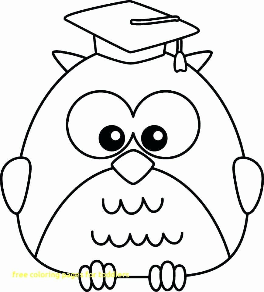 Coloring Books For 2 Year Olds Awesome Easy Coloring Pages For 2 Year Olds At Getcolori Owl Coloring Pages Preschool Coloring Pages Kindergarten Coloring Pages