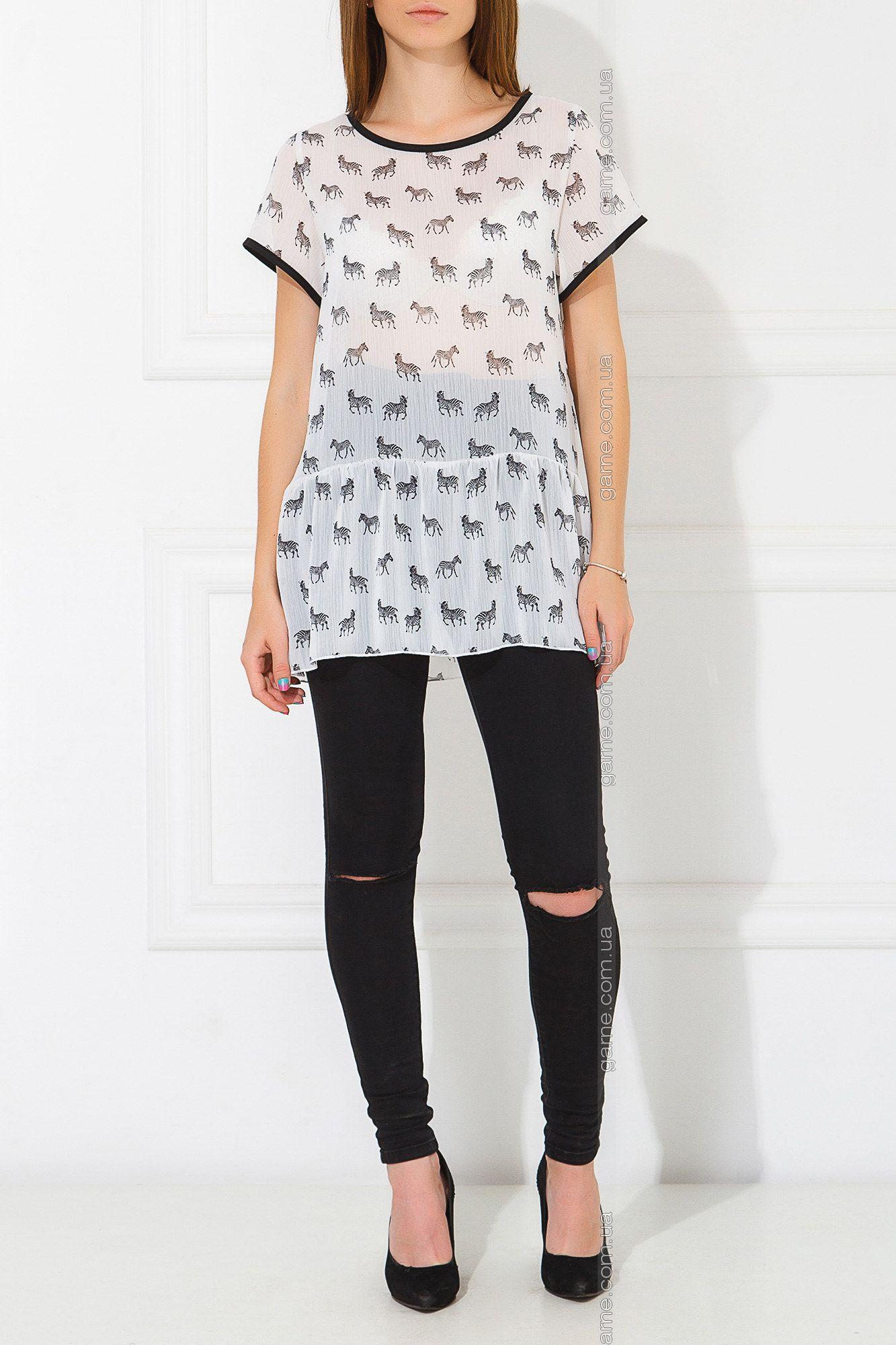 Блуза Zebra. Блузы, рубашки: Garne - артикул: 3030334.