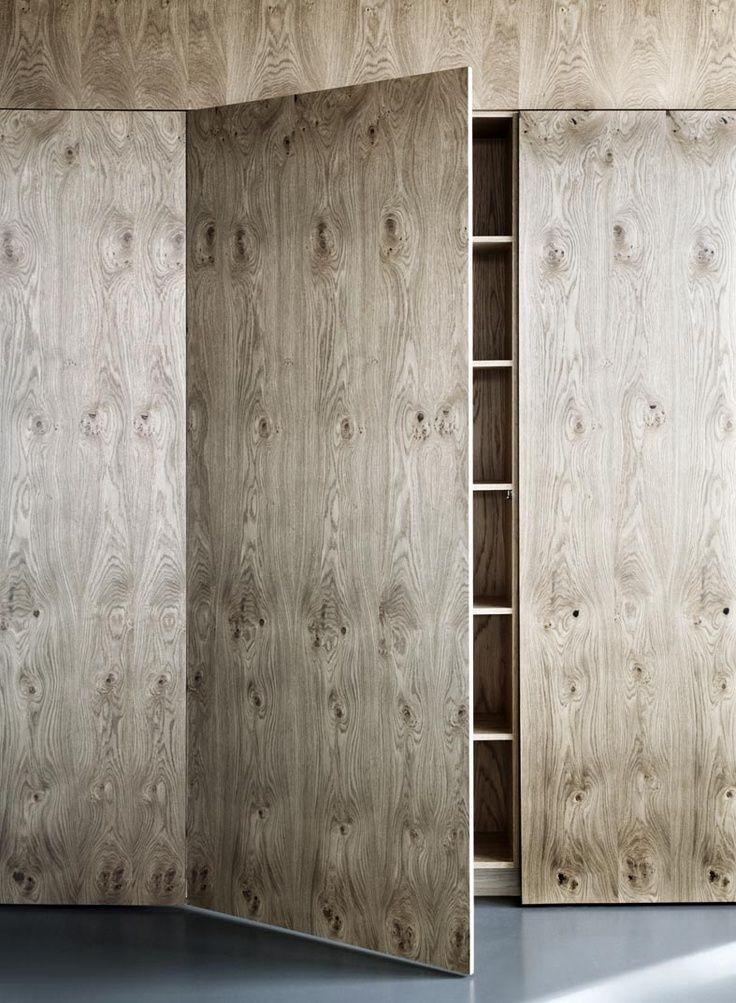 Osb Kitchen Fronts Pinterest Grey Stained Plywood Cabinet Fronts On Ikea Base Cabinets Wow This