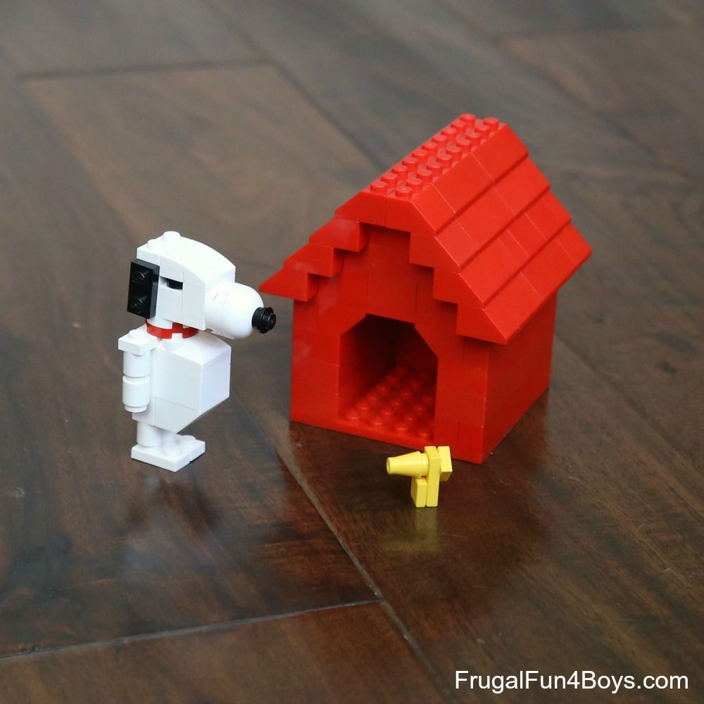 Snoopy And His Dog House Lego Building Instructions Lego