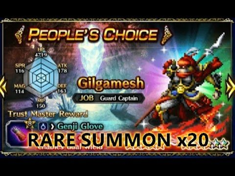 FFBE] Summon Pull x20 | People's Choice Banner #35 | [FFBE