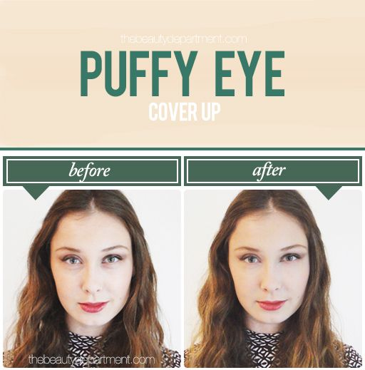 The Right Way To Er Up Puffy Eyes Is Not Using A Lighter Concealer On Bags