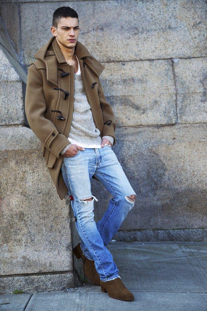 Men's Wear Denim Trend: Let It Rip | style // looks I love ...
