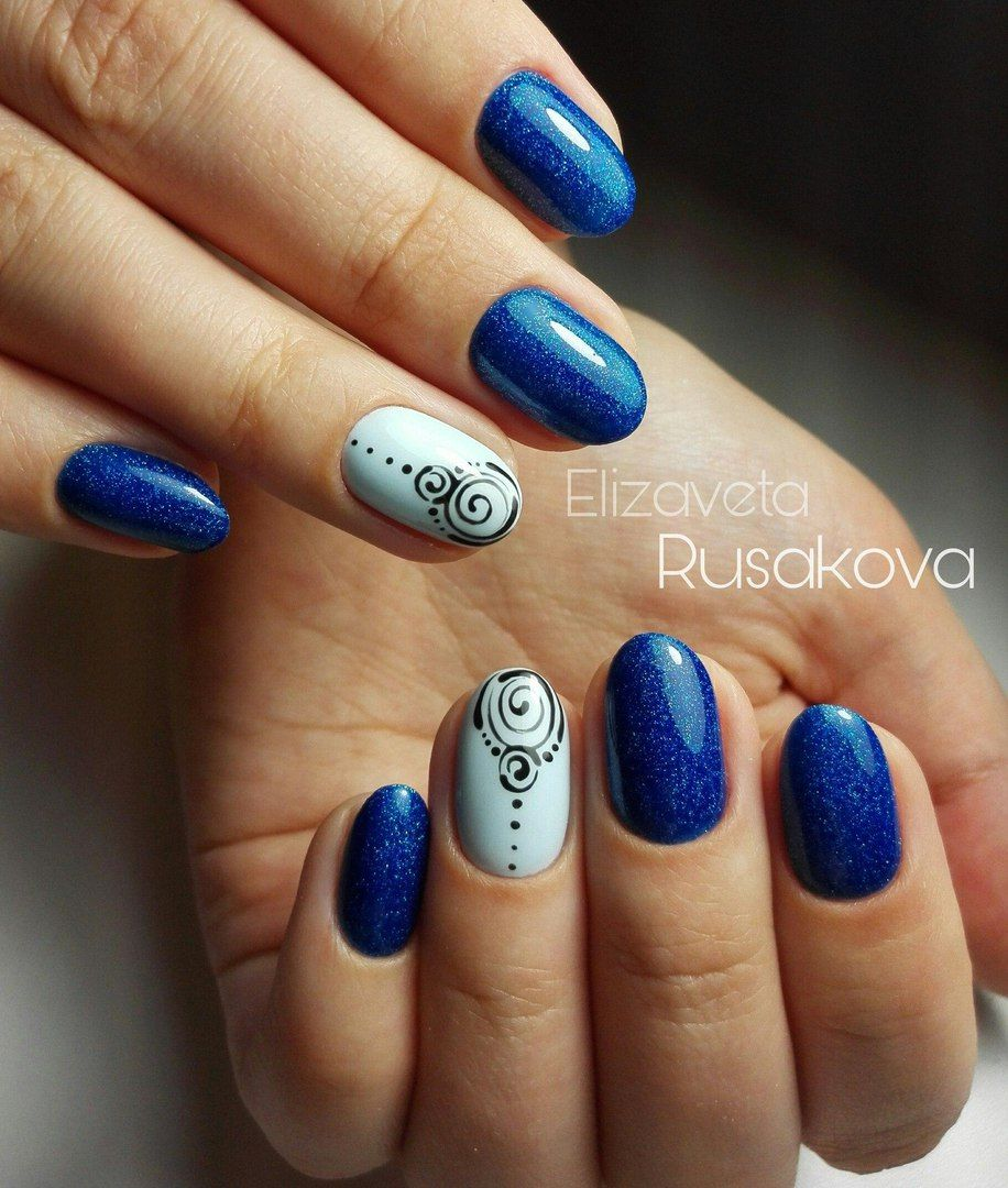Nail Art #3683 - Best Nail Art Designs Gallery | Bright nails, White ...