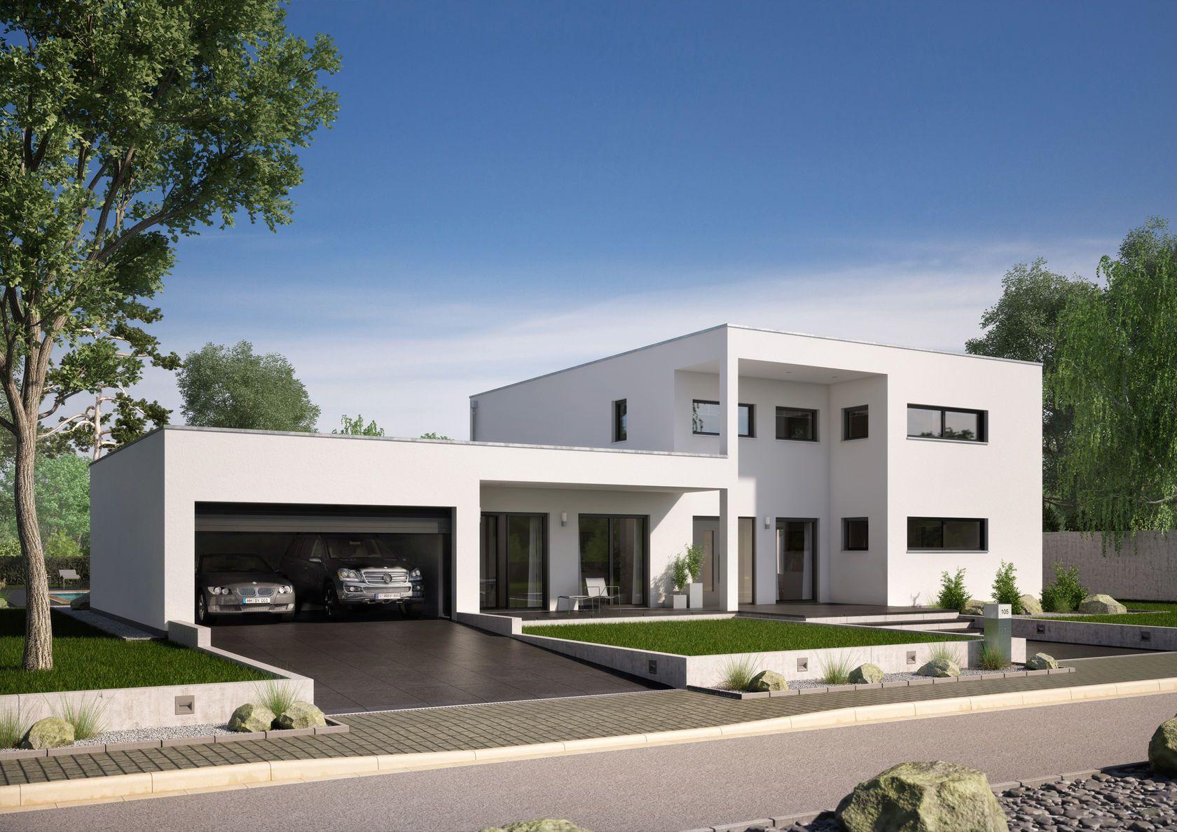 Häuser | Hausbau, Haus ideen und Doppelgarage