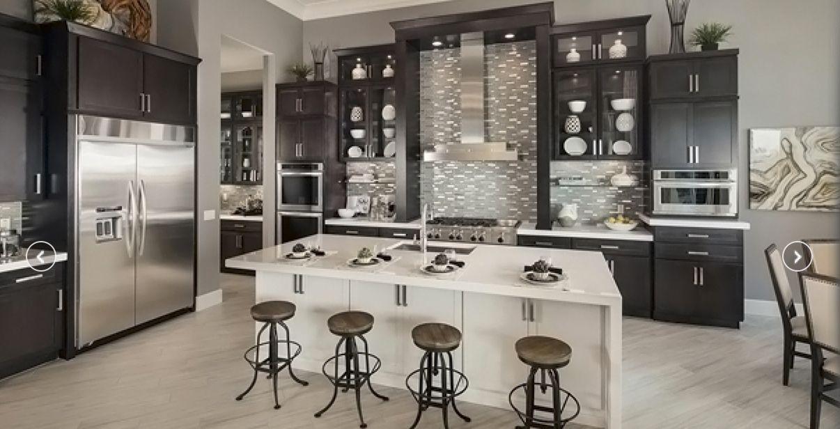 Best Dream Modern Kitchen Cabinets In Grey Stain Add P*T 640 x 480