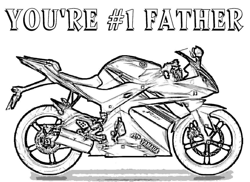 Childrens fathers day coloring pages - Fathers Day Coloring Pages To Print Free Large Images