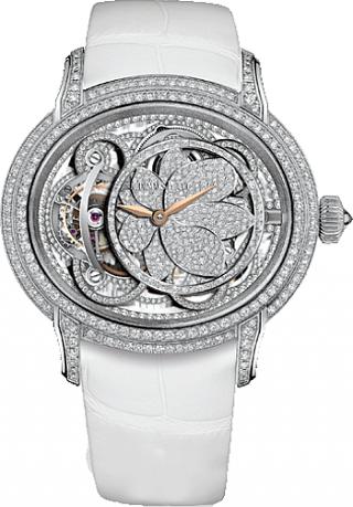f5026f036e5 WEB LUXO - Alta Relojoaria  Audemars Piguet lança relógio feminino  inspirado na beleza da flor