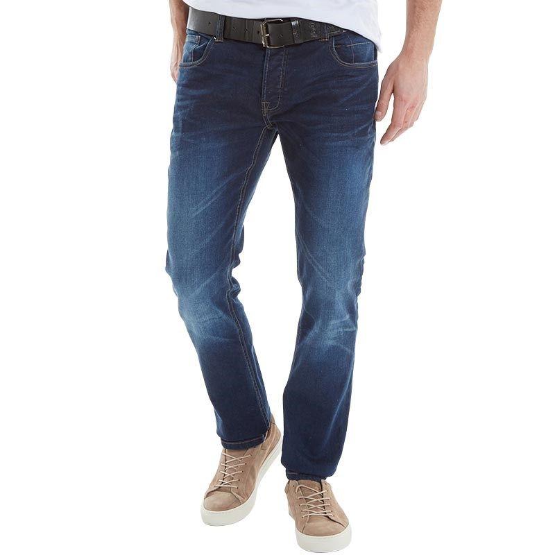 Cheap Crosshatch Bolt Jeans Mens Darkwash Online Store