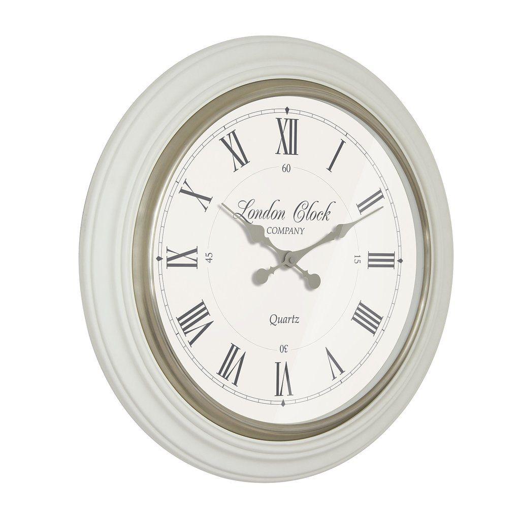 Wall Clock   Eleanor Cream 54cm   London Clock Company