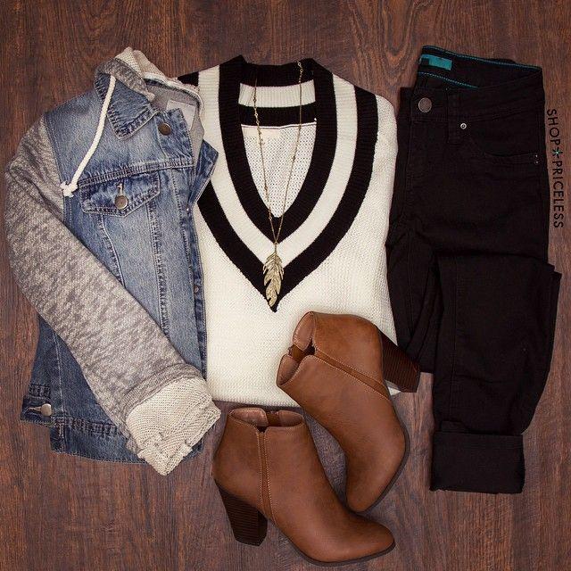Zendaya V-neck Sweater - White #Fall #Fashion #SweaterWeather #ootd #ShopPriceless