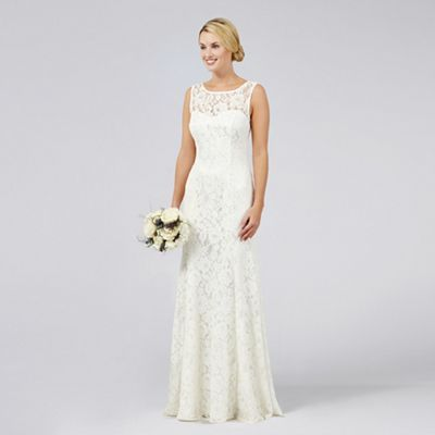 Debut Elaine Lace Bridal Dress | Debenhams | Wedding Dress & Shoes ...