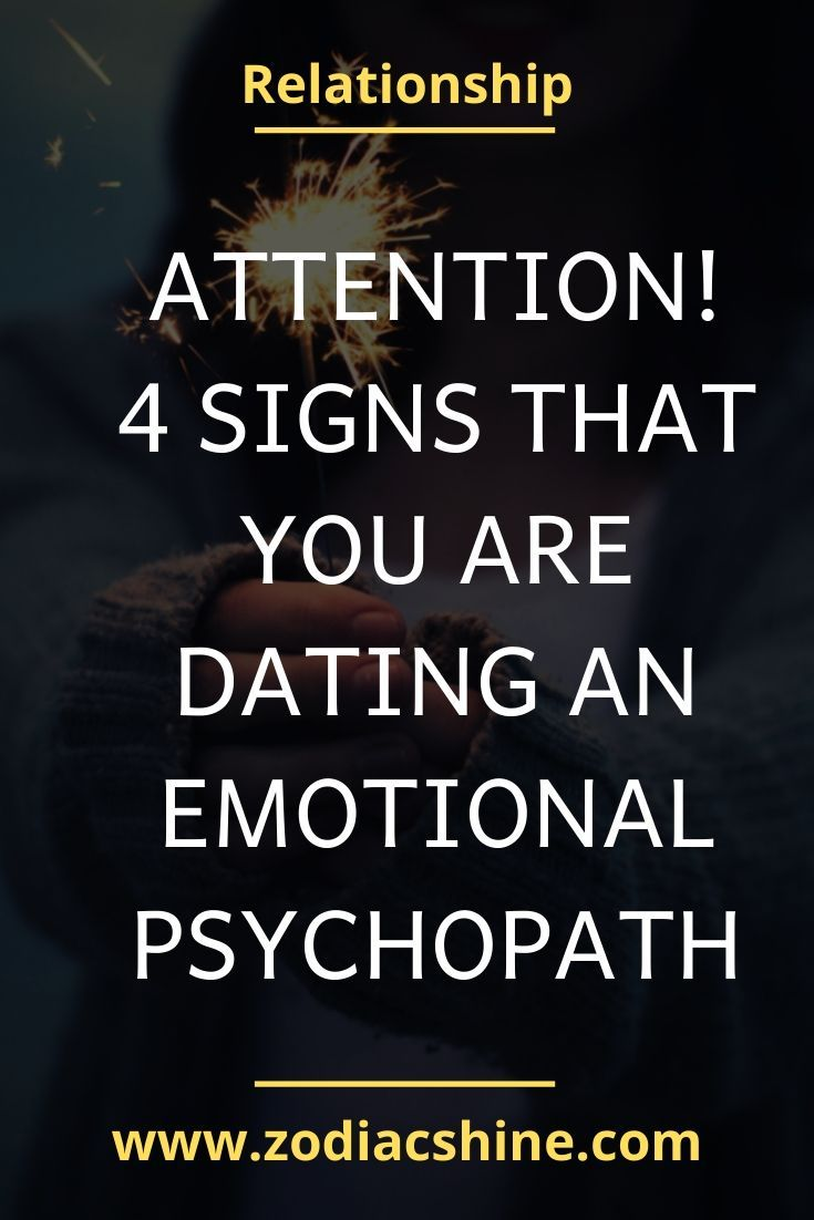 Attention 4 signs that you are dating an emotional