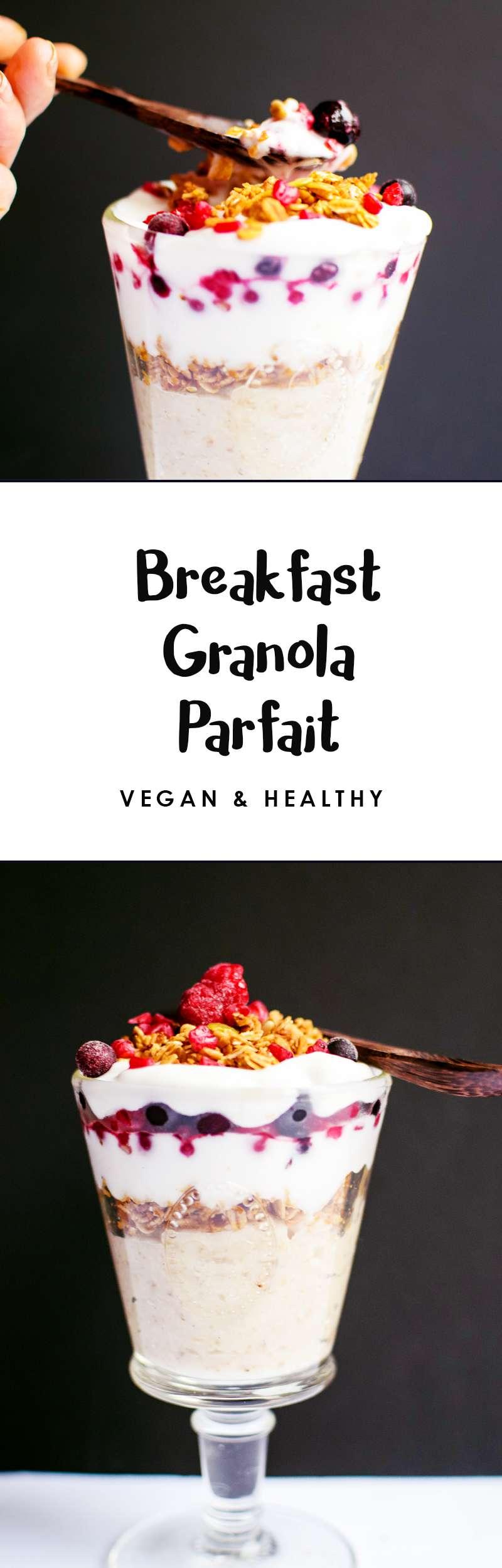 Easy granola parfait recipes