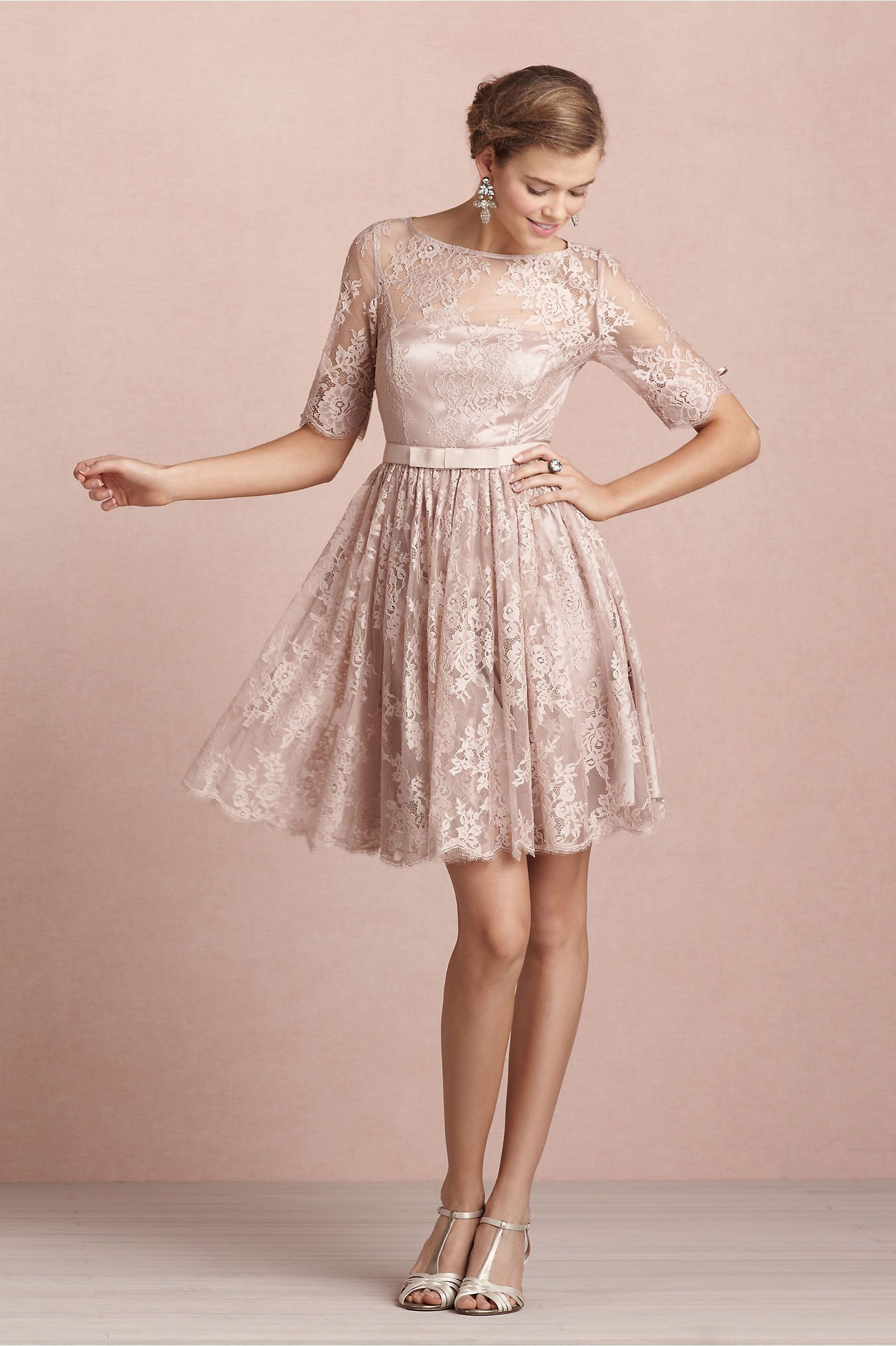 Tea Rose Dress in Bridesmaids & Partygoers Dresses at BHLDN | A ...