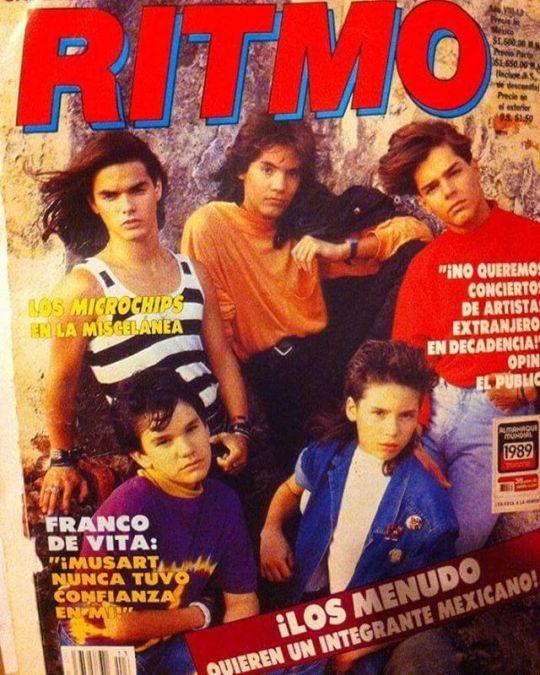 Rickymartin Sergioblass Menudo Exmenudos Menudo Boy Band 80s