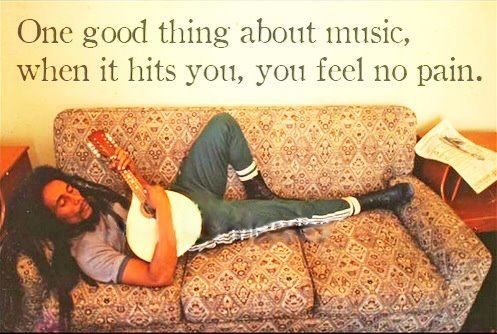 One good thing about music.