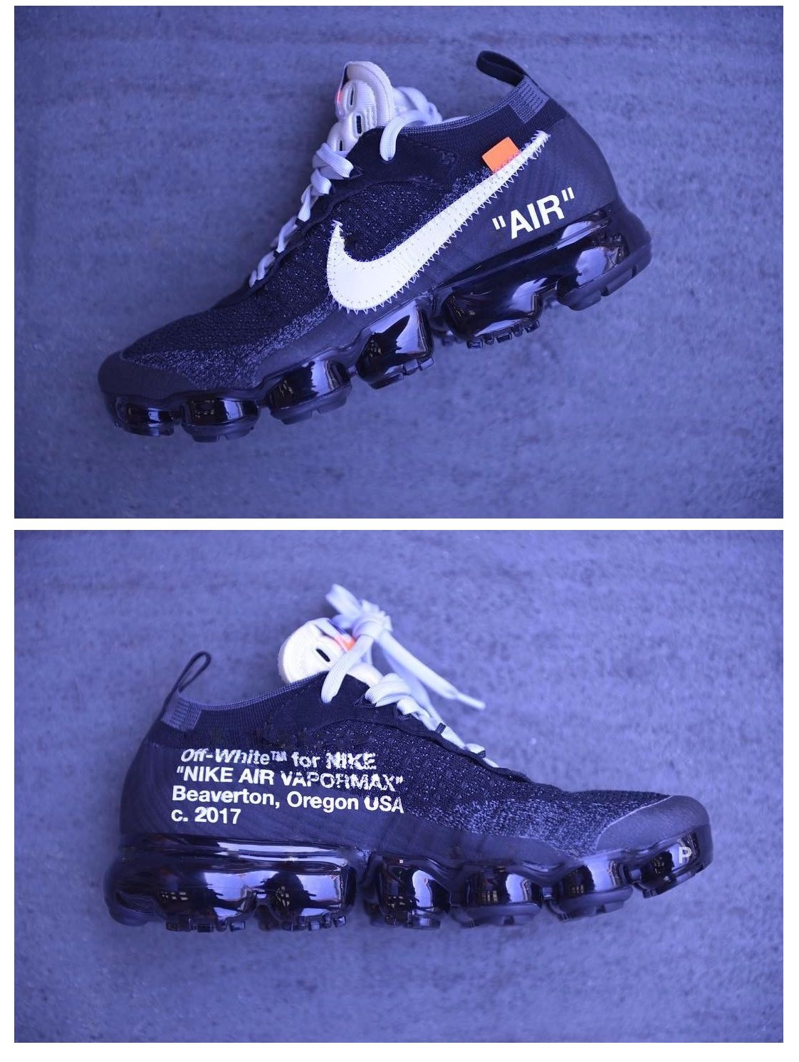 OFF-WHITE x Nike Air Vapormax Flyknit