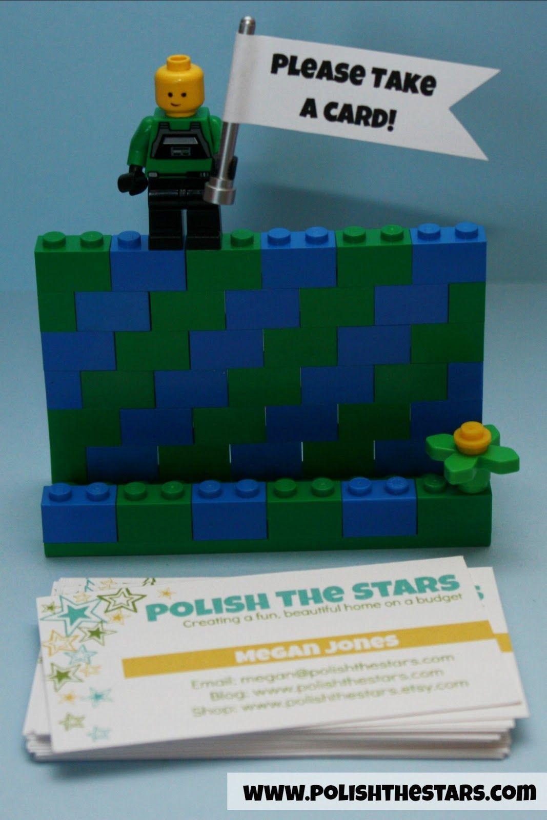 Polish The Stars: LEGO Business Card Holder   Gift Card Holder ...