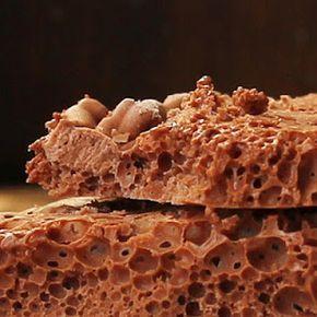 Aire de chocolate congelado