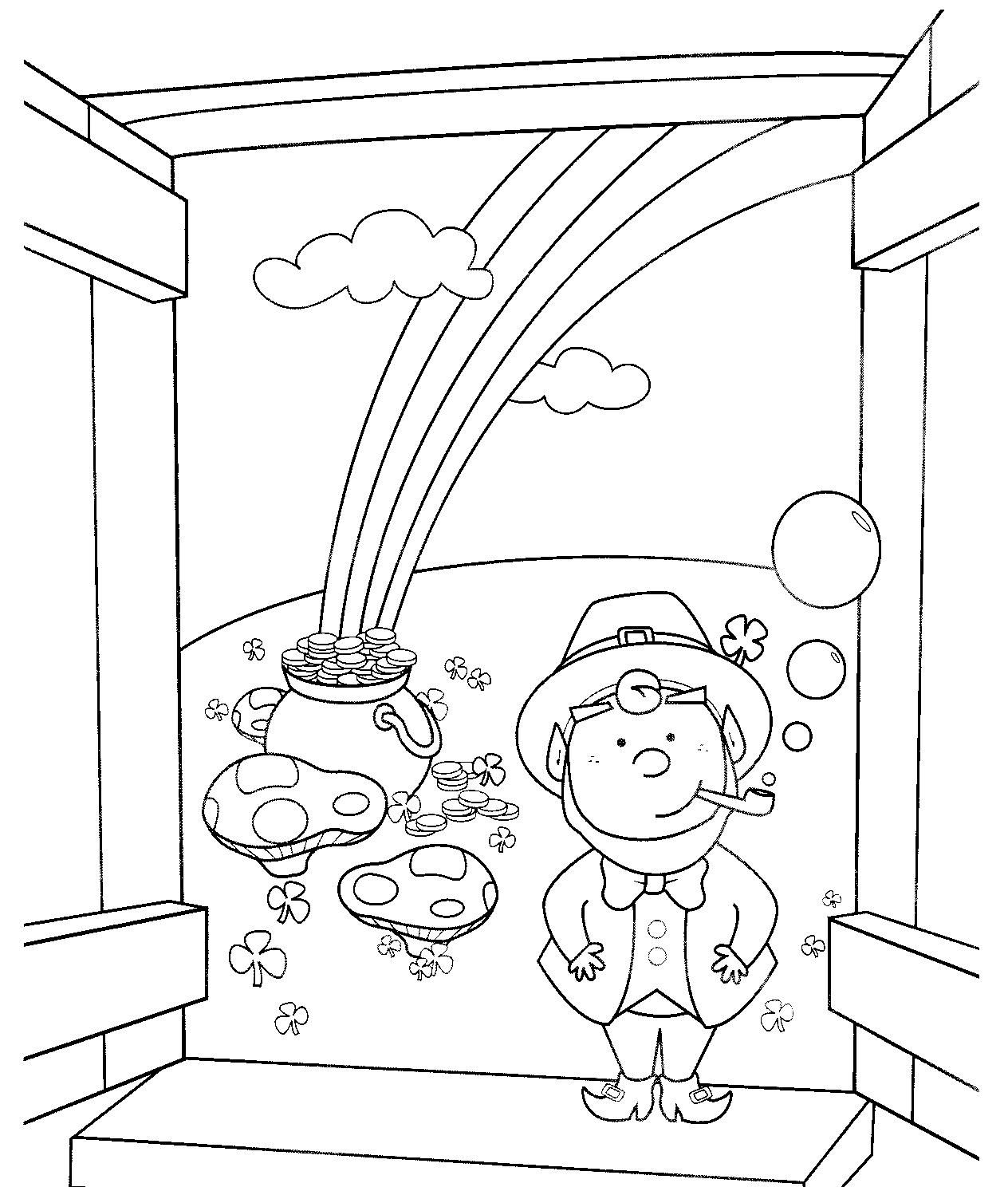 St Patrick\'s Day Coloring Pages and Activities for Kids