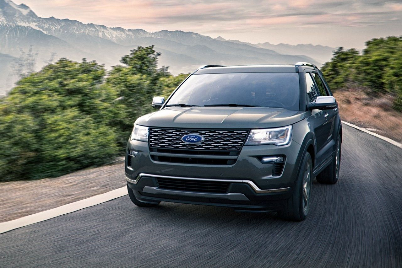 Meet the New 2018 Explorer This is one SUV that lives up