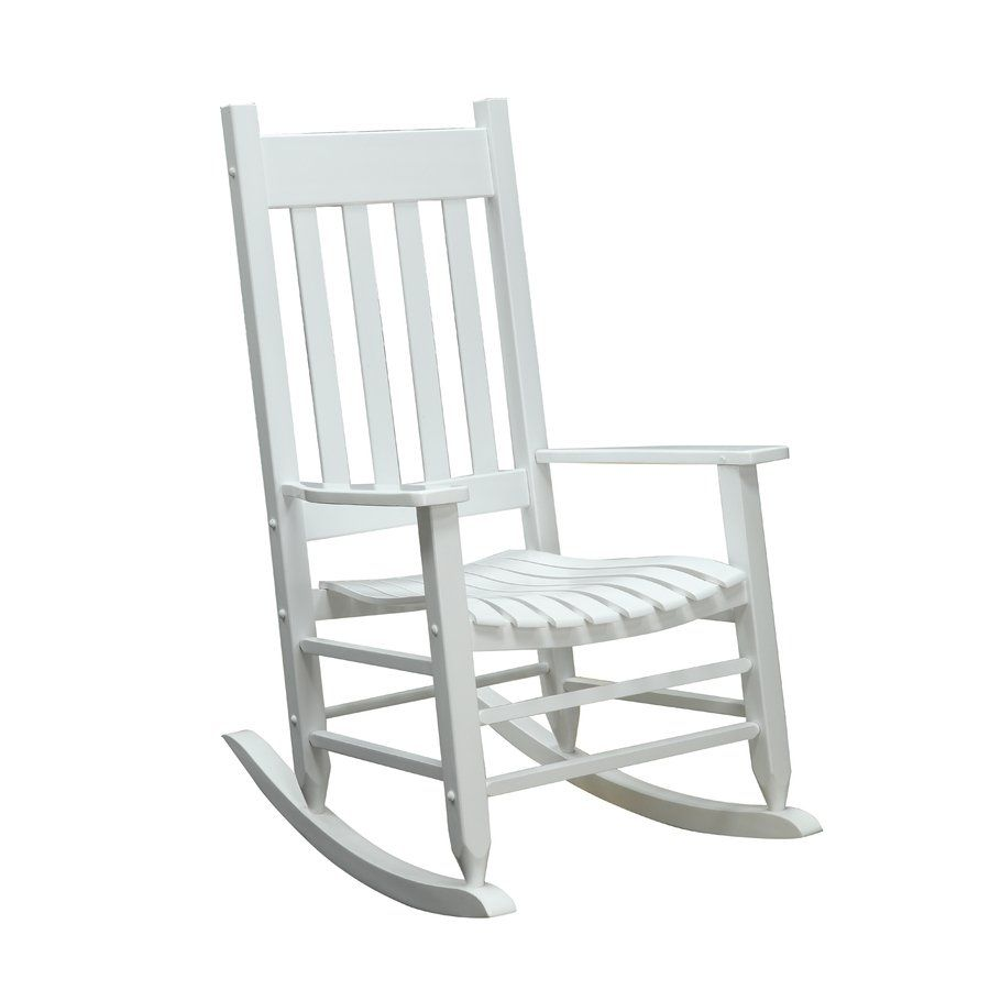 garden treasures outdoor rocking chair lowe s canada for the