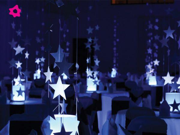 Decoraci n para boda con estrellas zapatos de novia for Decoracion con estrellas