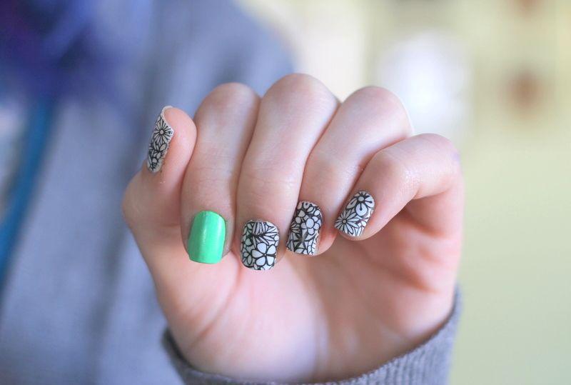 Flowers #nail art