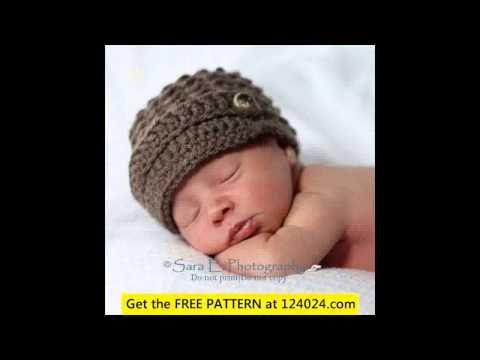 Tutorial HOW TO CROCHET baby mouse hat ,easy beginner pattern ...