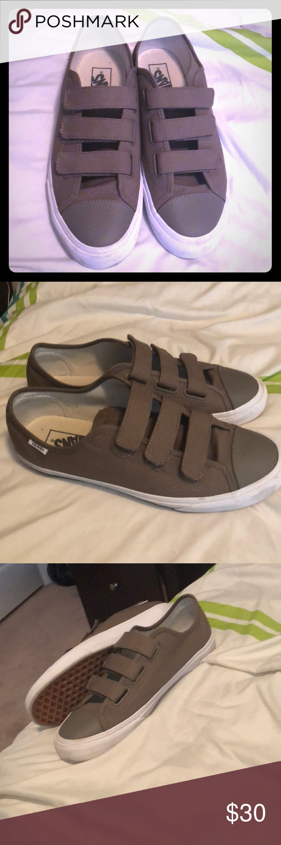 9d5f158e21c Vans Velcro Worn 3 times but still in great shape and ready for a new home!  Vans Shoes Sneakers