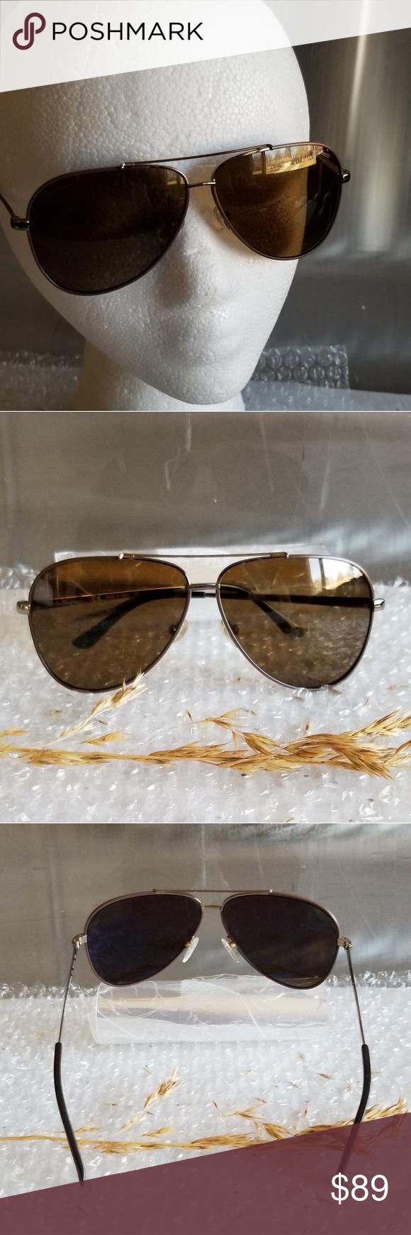 ce96f29ed3fa Salvatore Ferragamo Sunglasses Salvatore Ferragamo Sunglasses Model: SF131S  SF/131/S 211 Polarized Size: 60□10 135 Style: Pilot Lens: Brown Made in  Italy ...