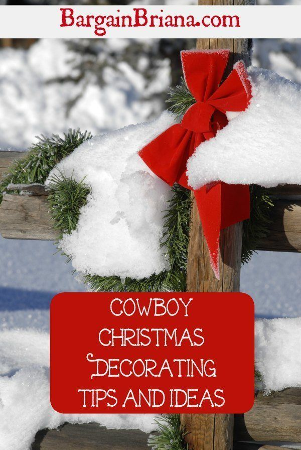 Cowboy Christmas Decorating Tips and Ideas Heavenly Christmas