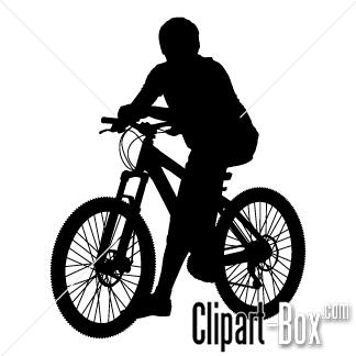 Clipart Mountain Bike Bike Print Clip Art Vector Design