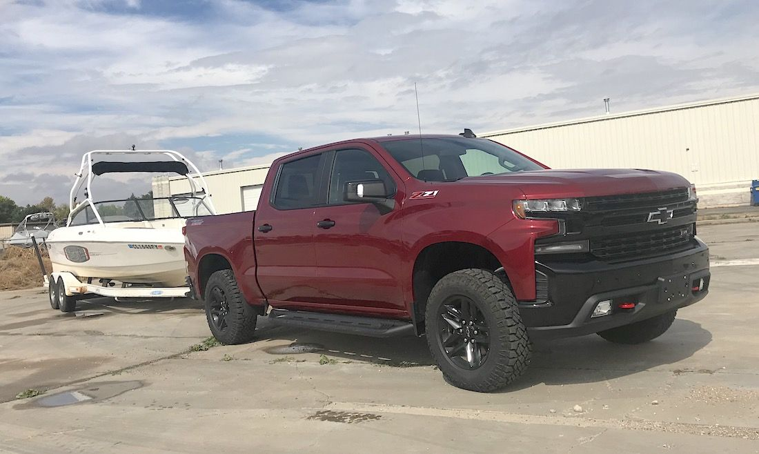 2019 Chevy Silverado 1500 Trail Boss Towing Capacity Feels Free