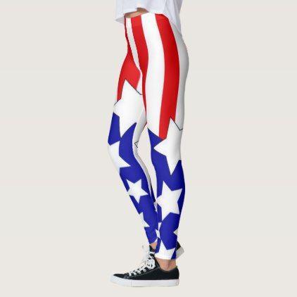 #women - #usa flag popular women leggings