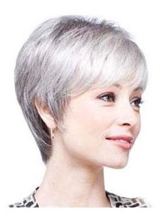 Top Quality Short Layered Straight Capless Synthetic Wig