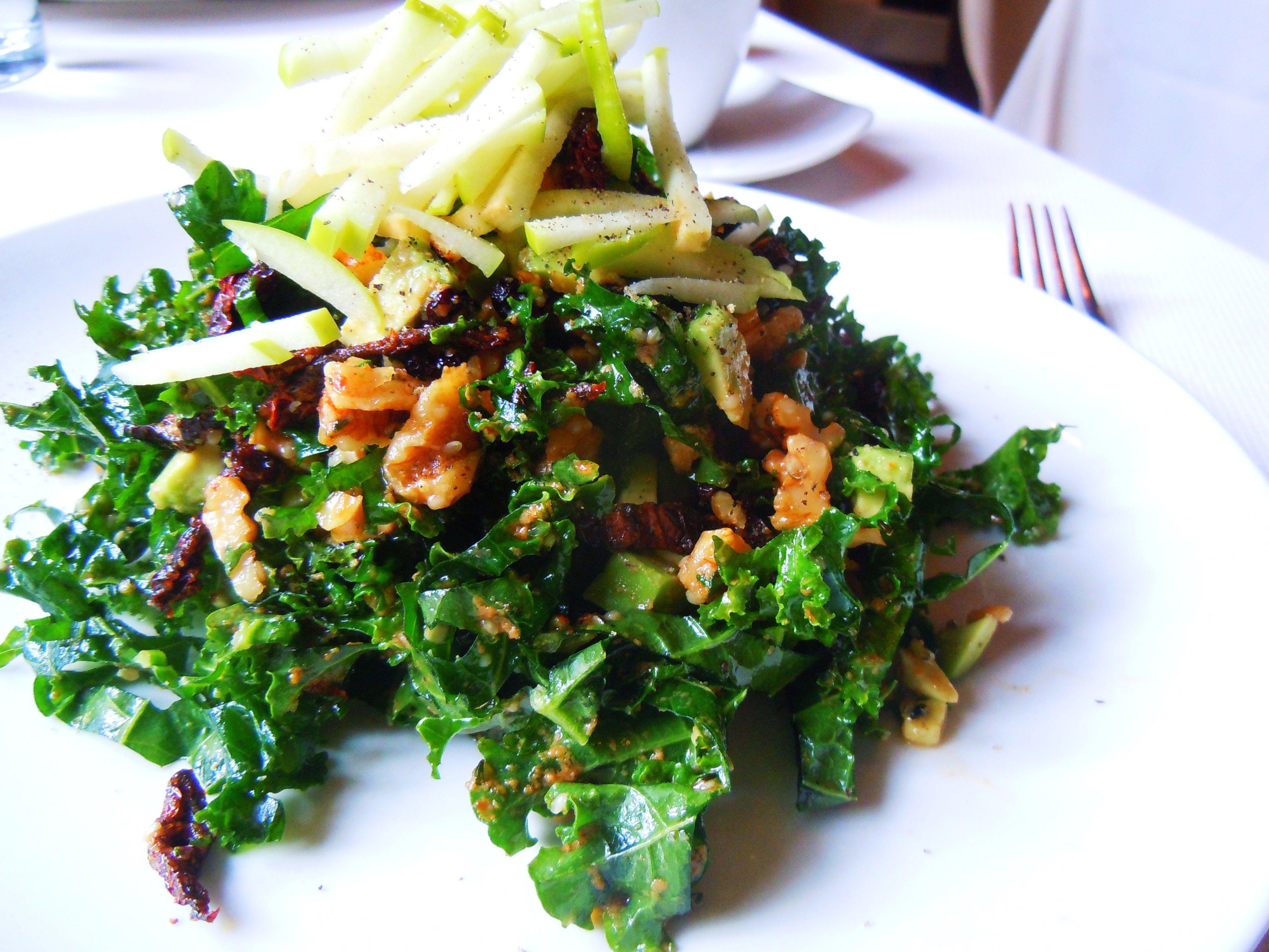 Winter Kale Salad At The Living Room Restaurant Windsor Arms