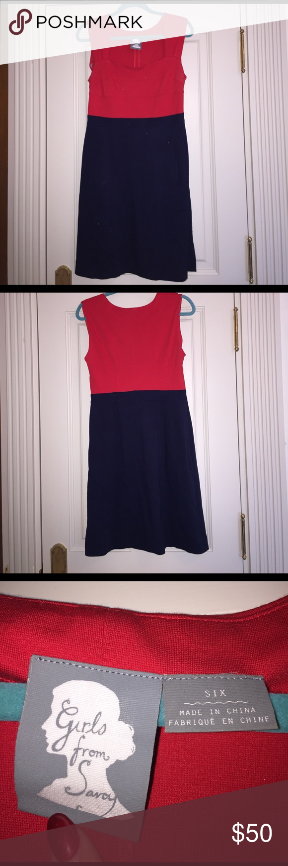 Girls from Savoy size 6 dress This dress has only been worn a handful of times and is originally from Anthropologie. It's a great work dress or dress for someone who prefers a more conservative look. It has pockets and is very comfortable to wear for long periods of time. It doesn't have a zipper, making it easy to throw on. If you're a person with a good size chest, this is a great dress! It's in great condition. Scale 1-10: 9.5 girls from savoy Dresses Midi