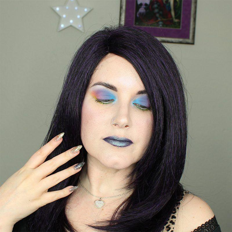 Kat Von D Pastel Goth Rainbow Eye Tutorial for Hooded Eyes