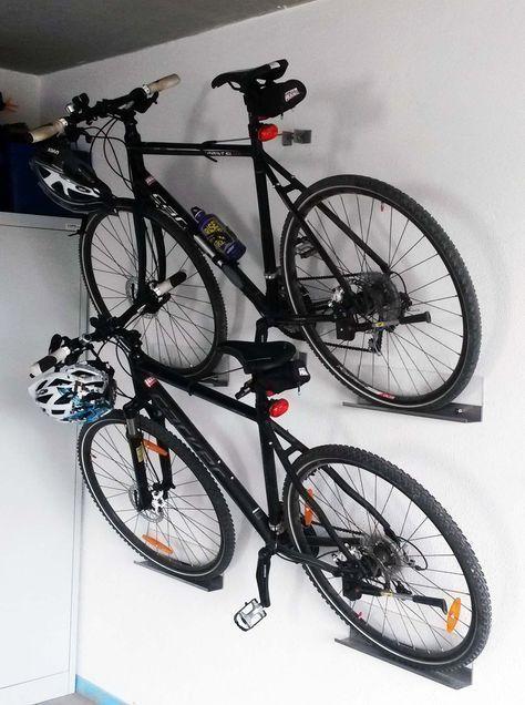 fahrradhalterung wand du machtest dein fahrrad nicht immer im weg stehen haben dann bau dir eine fahrradhalter wandmontage