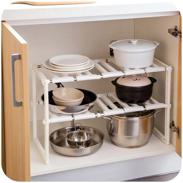 Captivating Kitchen Stainless Steel Water Tank Below Commodity Shelf Double Deck Drain  Shelves