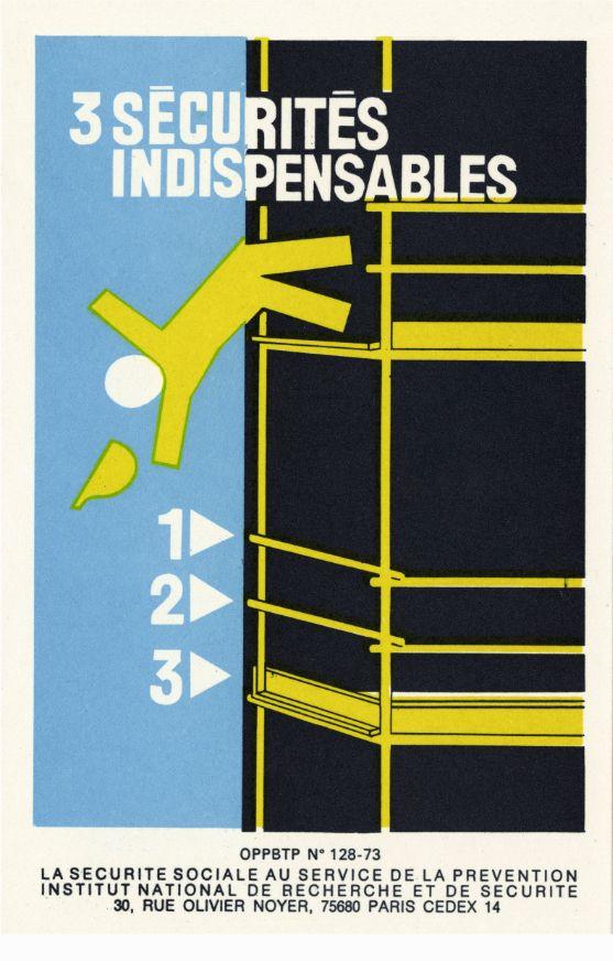 Célèbre 1880604-securite-au-travail-60-ans-d-affiches | affiche securité  ZO76